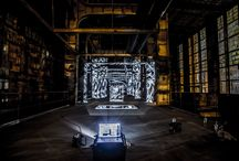 Power Plant / Secret Mapping, Power Plant, installation, Light Experiment.visual art