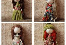 My past work / Doll, textile, art, doolls, artdolls,