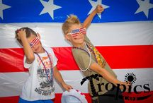 4th July T.G.I.F. Photo Booth / US Independence day celebrated at Tropics Cafe.