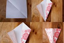 Paper Crafting / paper craft paper flowers