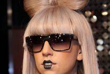Lady Gaga - Hair bow style