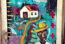 Outsider art / Outsider art, raw art, art brut....