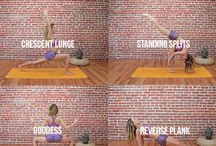 Yoga poses / Curated Yoga