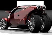 Futuristic Vehicle / Automotive