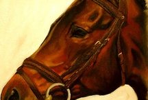 Horse Paintings  / by Peru Paso Horse