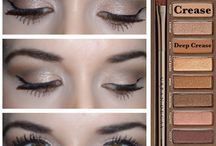 Naked palette / Makeup looks