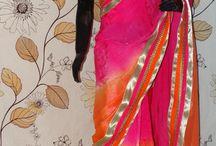Designer Sarees / Elegant designer sarees from the house of RangRiwaaz