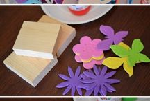 Kid Craftiness / Cool reuse art and craft projects geared toward kiddos, but of course, anyone can try 'em.