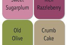 Combinaisons de couleurs stampins Up