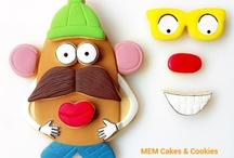 Galletas de Mr Potato / www.memcakesandcookies.com