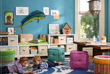 Play Room Fun / Fun play room ideas for the DIYer!
