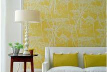 Wall decoration / murals, wallpaper