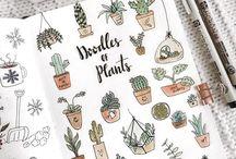 Doodle plants