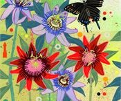 Flora Fauna Illustrations and Art / by Sandy Elliot Newby