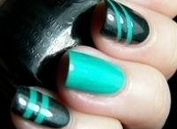 a Nails  líneas y geometricos