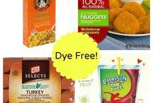 Dye free foods