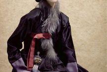 Hanbok-. / Traditional Korean dresses-.