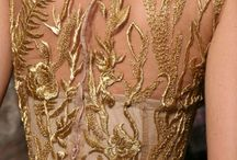 Wedding // Glitter and gold dresses