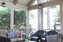 Side Porch reno. / by Krista Albright