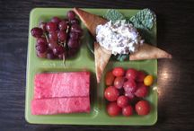Kids' Lunch & Snacks / Lunch ideas and fun presentations of fruits and veggies