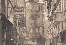 Paris du passé.
