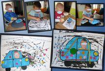 Bricolages pour la fête des pères par les p'tits loulous de Gaëla / Bricolages et activités des enfants/assistante maternelle