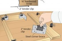 Woodworking Tips + Hacks