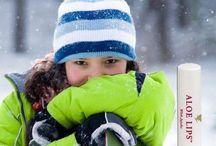 Goed verzorgd de winter door!!! / Goede verzorging voor handen en lippen!