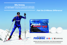 Billy Demong 5 Time Olympian & Peak Energy / Billy Demong, a 5 Time Olympian, Gold Medal Winner and Captain of the US Ski Team.  He and his team uses Peak Energy Mints to boost their performance