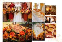 Cranberry and Orange Weddings