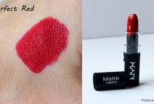 NYX Matte Lipstick. Perfect Red.