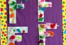 Letter crafts / by Holly Spina Wnuk