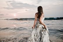 Trash-the-dress style wedding photography! Absolute love for this! / A new style of photography, trending in America! It is to express the idea that the bride won't need a wedding dress after this wedding, because this will last forever <3