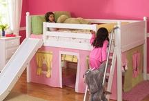 Playhouse Loft Beds for Kids / by Sweet Retreat Kids