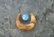 collane legno handmade