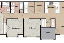 Three Bedroom Apartments in Saratoga Springs / Three Bedroom Apartment Floorplan