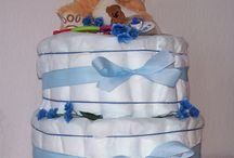 Dorty z papírových plen a jiné / dorty z plínek, ručníků a jiné...