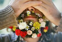 flowers for beards / Hipster beards and flower crowns. Men with flowers in their beards. Will it beard? So many things, just one beard. Putting random shit into hipster beard.