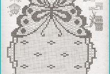 Crochet - Trilhos de mesa