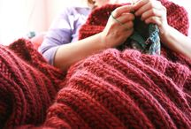Knitting Inspirations: Afghans, Home Dec