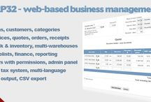 Web based business management