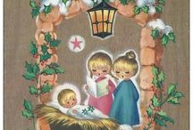 Vintage European Christmas photos/ postcards / by Jennifer Lowe