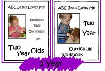 2 Year ABCJLM Curriculum / Ideas to enhance the 2 Year Curriculum at ABCJesusLovesMe.com
