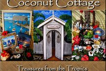 COCONUT COTTAGE AIRBNB / COCONUT COTTAGE is the home of Cruising Yachty Artist Jenn Payne & listed on Airbnb as a holiday rental.