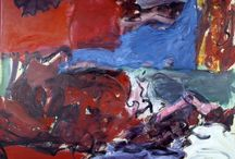 [1940 - 1960] Abstract Expressionism / Abstract expressionism is the term applied to new forms of abstract art developed by American painters such as Jackson Pollock, Mark Rothko and Willem de Kooning in the 1940s and 1950s. It is often characterised by gestural brush-strokes or mark-making, and the impression of spontaneity.
