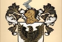 Coat of Arms Hand Painted / Family Coat of Arms & Crests
