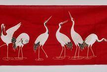 Japanese textile art / Japansk tekstilkunst
