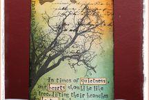 tvoření s distress ink