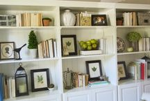 Bookcase displays