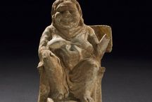 Greek terracotta statuette